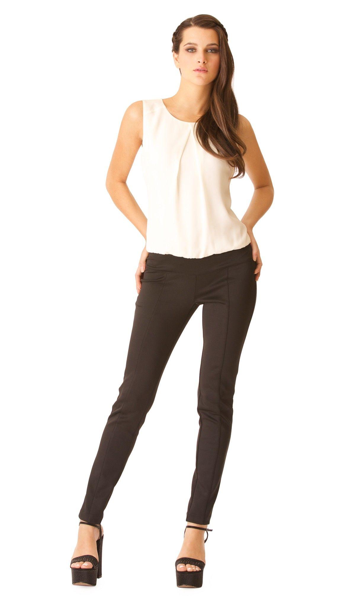 Ive by IVONNE \ México \SS15 $899.00 Jumpsuit bicolor entubado
