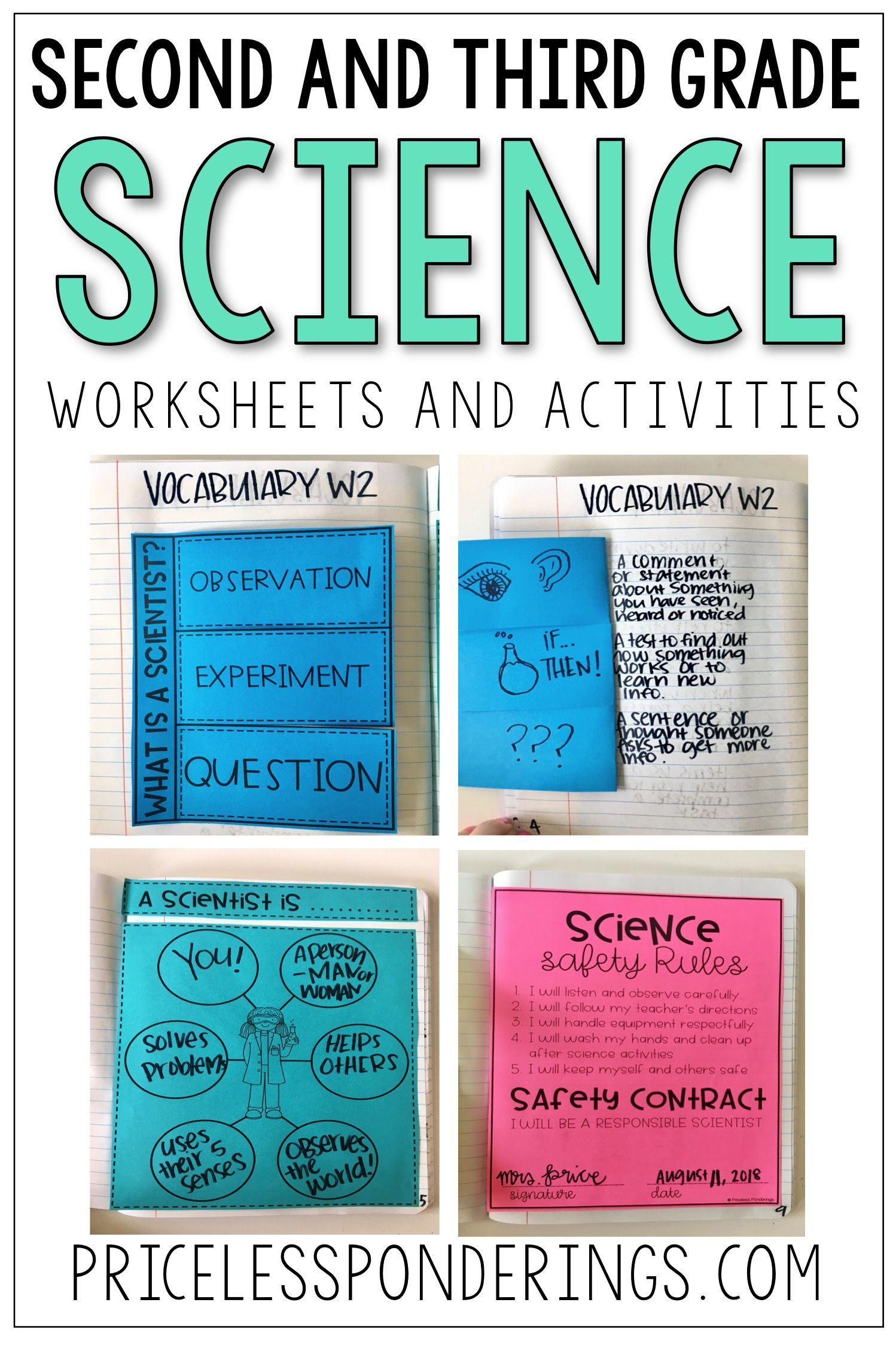 Science Interactive Notebook Bundle What Is A Scientist