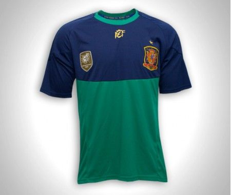 Camiseta Infantil Equipación Portero Réplica Oficial de la Selección ... ba349639eee04