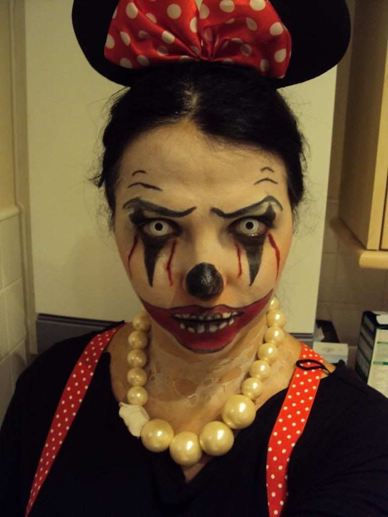 minnie mouse halloween costume | makeup | Pinterest | Minnie mouse ...