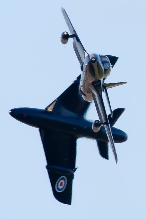 """zainisaari: """" Hawker Hunter The Hunter was designed by Sir Sydney Camm, who designed the very successful Hurricane fighter of WWII fame. Overall, 1,972 Hunters were produced by Hawker Siddeley and under licence. """""""
