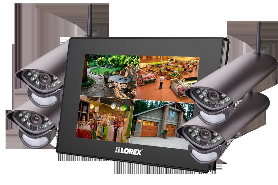 Home Systems Camera Alarm