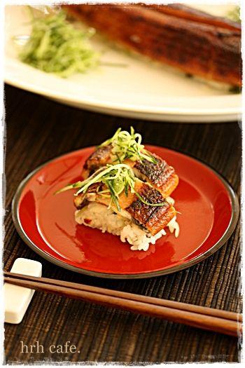 おもてなしに☆鰻の一本寿司