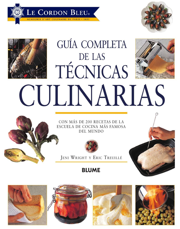 guia completa de las tecnicas culinarias culinario