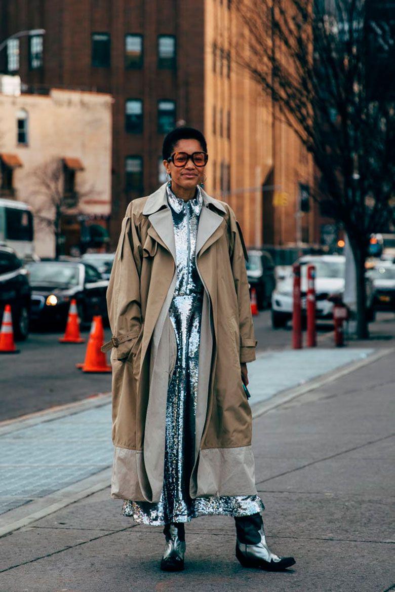 Una Selección Con Lo Mejor Del Street Style De La Semana De La Moda De Nueva York Street Style Trends Cool Street Fashion New York Fashion Week