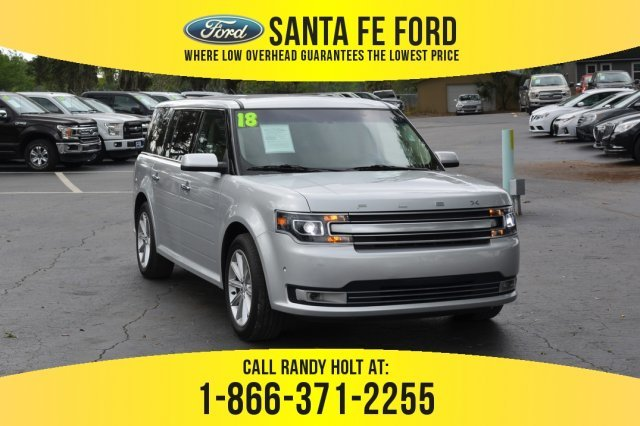 Used 2018 Ford Flex Limited Fwd Suv For Sale Gainesville Fl 39458r In 2020 Ford Flex Suv For Sale Used Ford