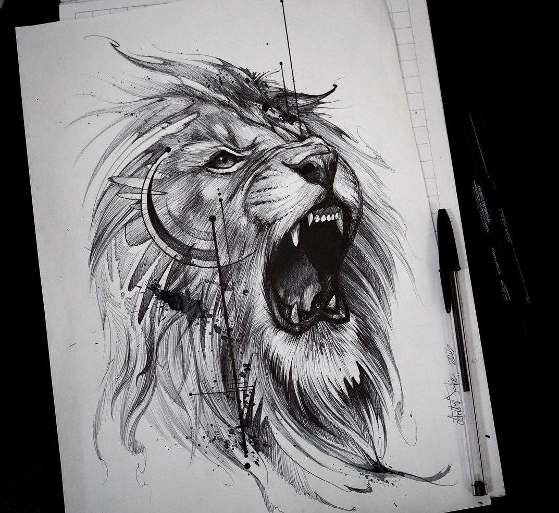 All New Lion tattoo, Lion tattoo design, Animal tattoos