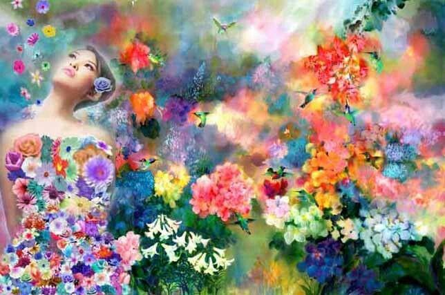 Uma flor de mulher