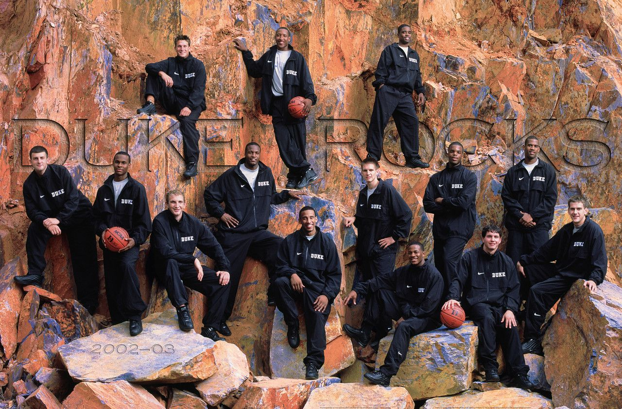 2002 2003 Duke Mens Basketball Posters College Team