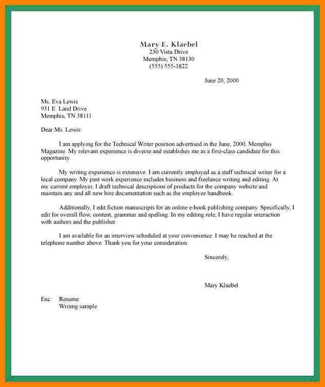 8 Semi Formal Letter Format Hvac Resumed Task Cover