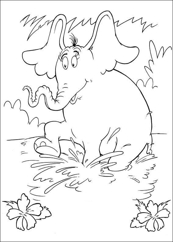 Dibujos para Colorear Horton 24   Dibujos para colorear para niños ...