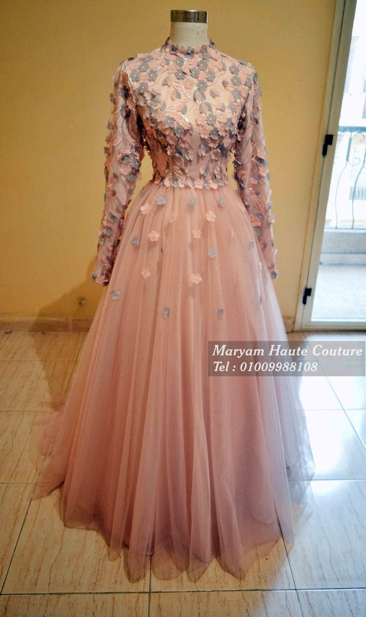 فساتين سوارية منفوشة تجنن لتختاري منها Soiree Dress Prom Dresses With Sleeves Prom Dresses Modest