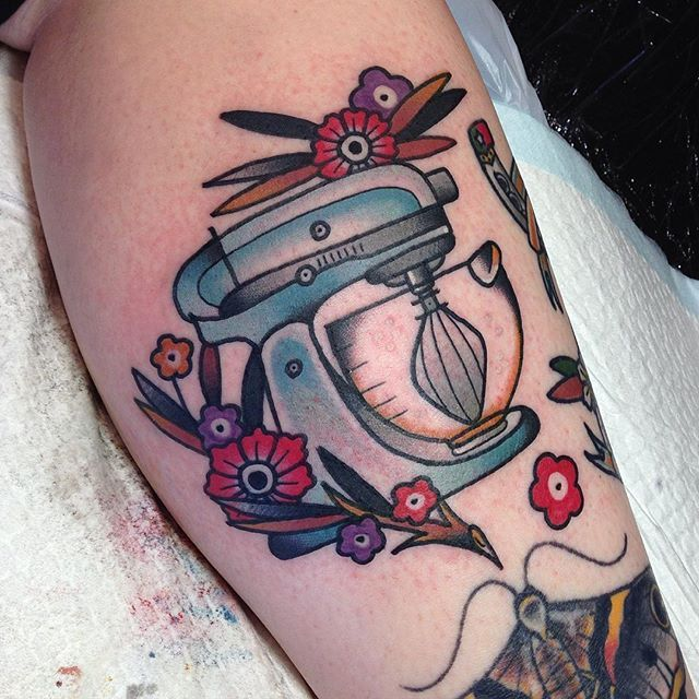Pin By Caitlin Gemeinhardt On Tattoos: Kitchenaid For Caitlin Today! Thank You So Much