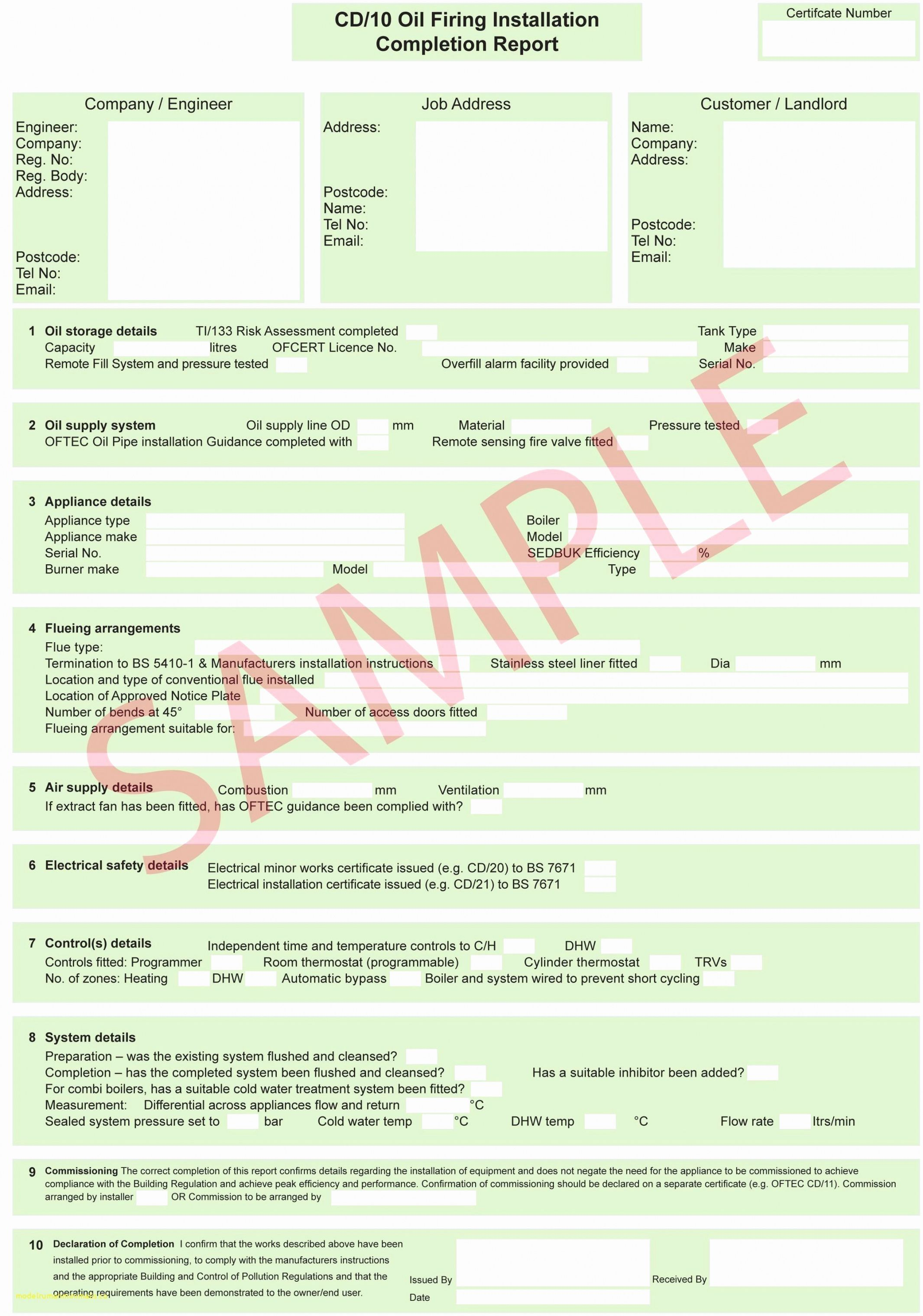 Get Our Printable Calibration Certificate Template
