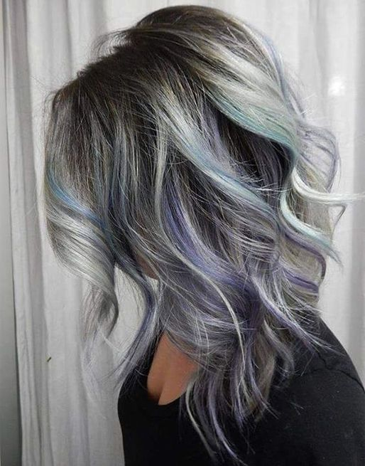Starlight Silver Hairstyles for 2017 Womens Over 40