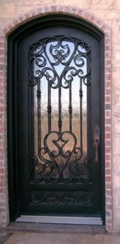 Sensation - Wrought Iron Doors Windows Gates Railings from Cantera Doors & Sensation Custom-40 - Wrought Iron Doors Windows Gates ... Pezcame.Com