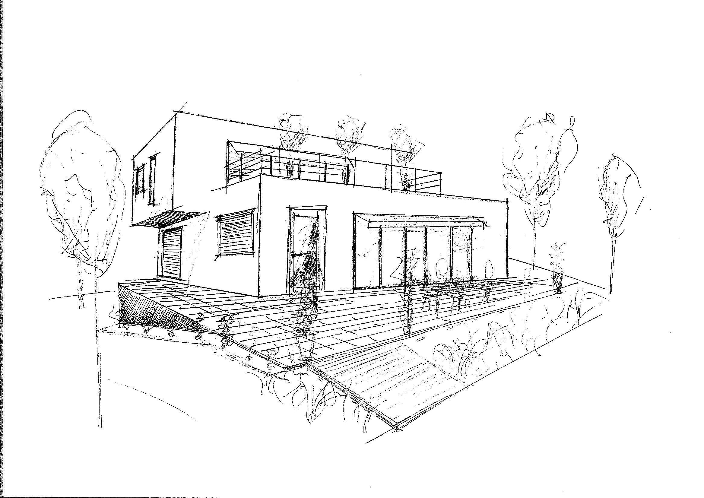 Exclusive Idea Dessin Maison Moderne Meilleur Id Es De Conception