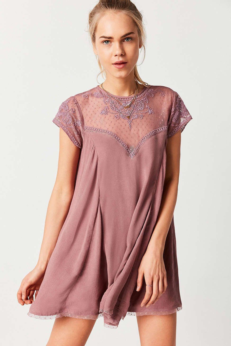 Mini Trapeze Dress