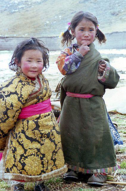 Crianças Tibetanas