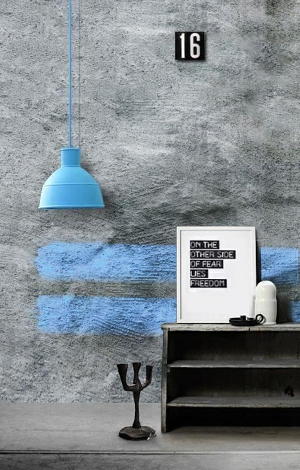 wandfarbe beton wie kann man eine betonwand streichen wandgestaltung wandfarbe und w nde. Black Bedroom Furniture Sets. Home Design Ideas