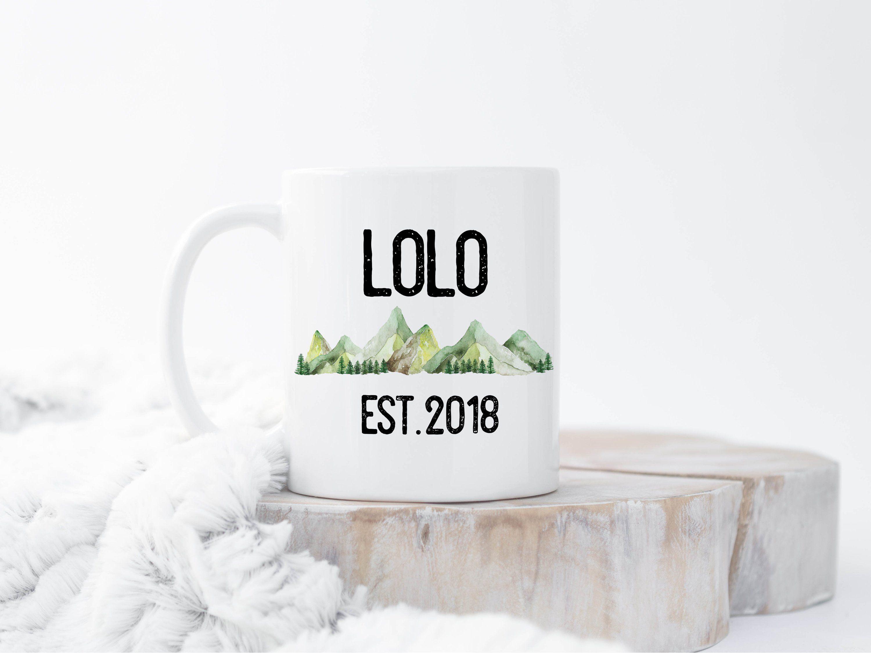 Lolo Mug, Lolo Gifts, Filipino Pregnancy Reveal, Chamarro Pregnancy