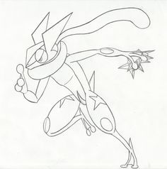Greninja Pokemon Ash Coloring Pages Pokemon Coloring Pages