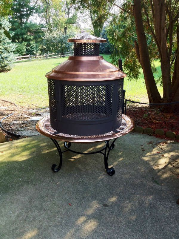 Captivating Representation Of Lit Your Outdoor Space Nuance With Chiminea Fire Pit For  Stylish Warmer