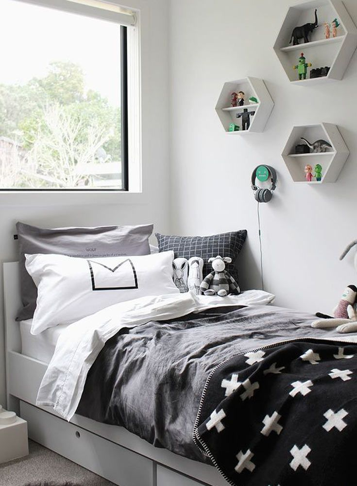 Best Love The Scandi Schic Monochrome Kids Bedroom Style You 640 x 480