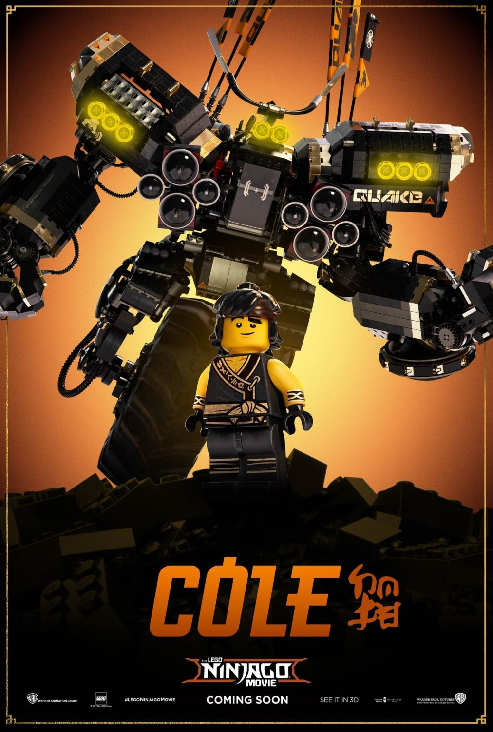 Return To The Main Poster Page For The Lego Ninjago Movie 17 Of 21 Where Do I Find His Mech I Want It And The M Lego Ninjago Movie Lego Ninjago Ninjago