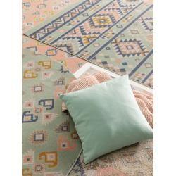Photo of benuta Trends Kurzflor Teppich Luna Pink 80×150 cm – Moderner Teppich für Wohnzimmerbenuta.de