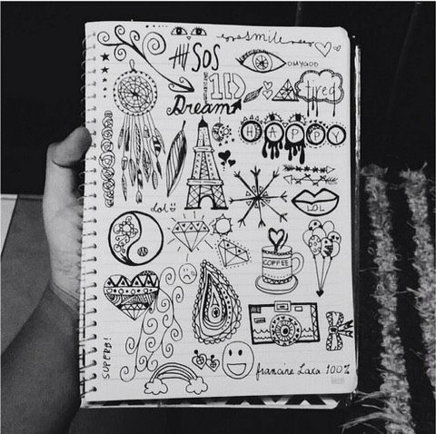 25 Drawing Ideas Doodle Art