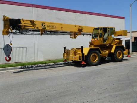 Pin by Rock & Dirt on Cranes | Cranes for sale, Grove crane