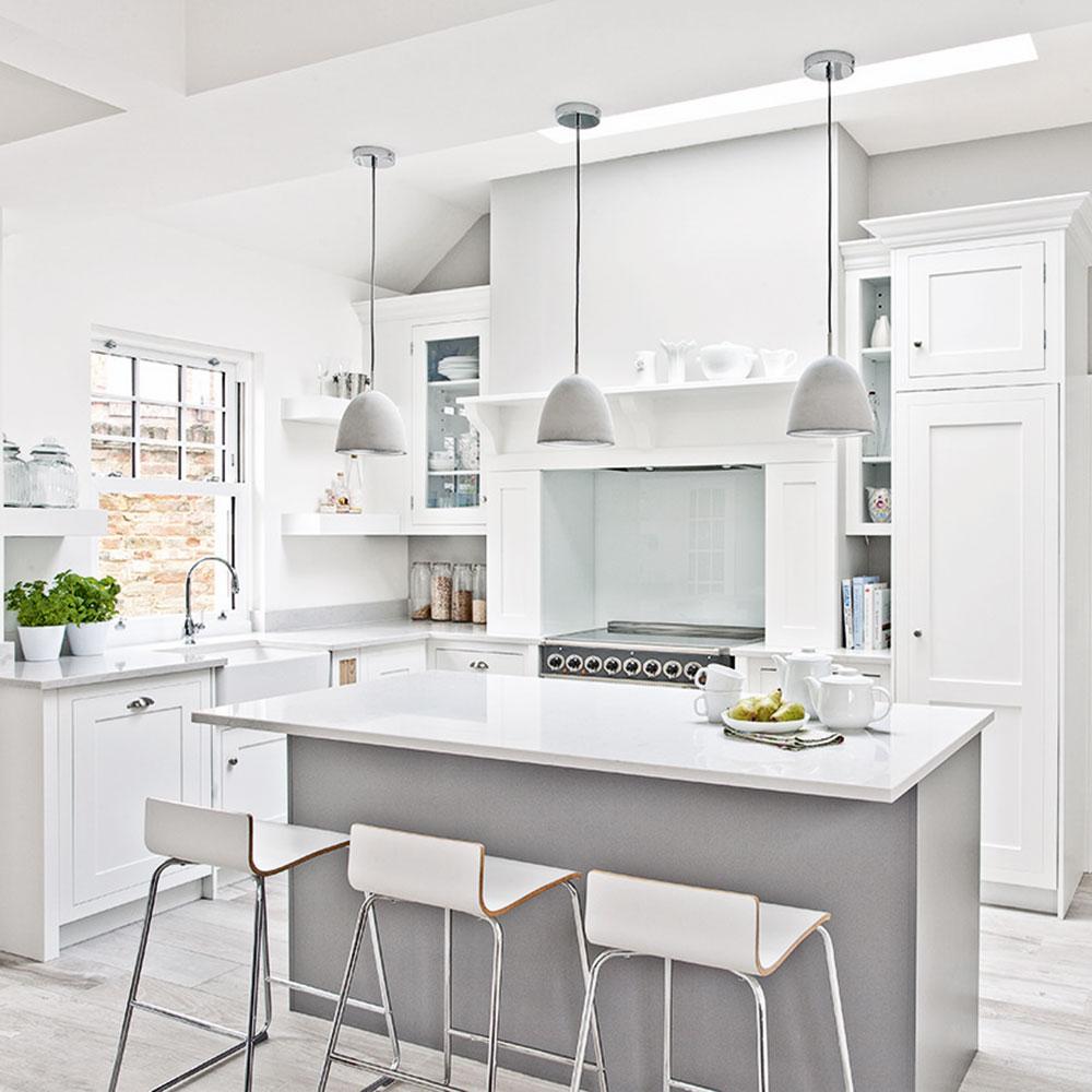 all white kitchen ideas Google Search in 2020 White