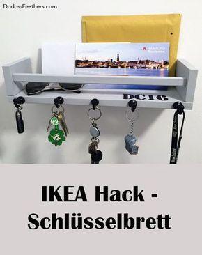 IKEA BEKVÄM als Schlüsselbrett #ikeaideen