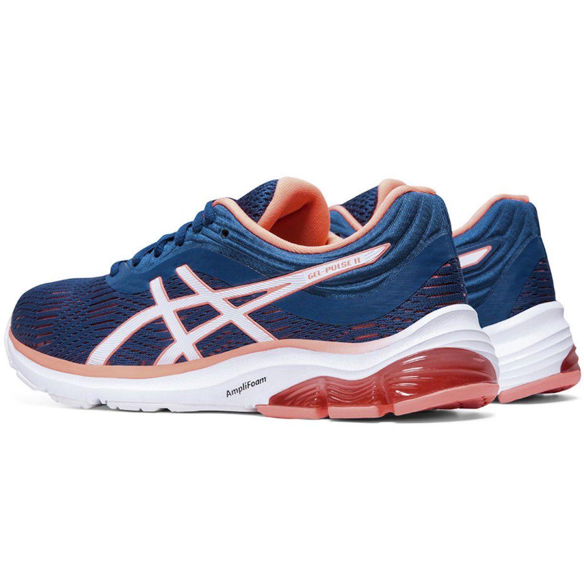 Buty Do Biegania Asics Gel Pulse W 1012a467 401 Niebieskie Blue Shoes Asics Gel Pulse Asics
