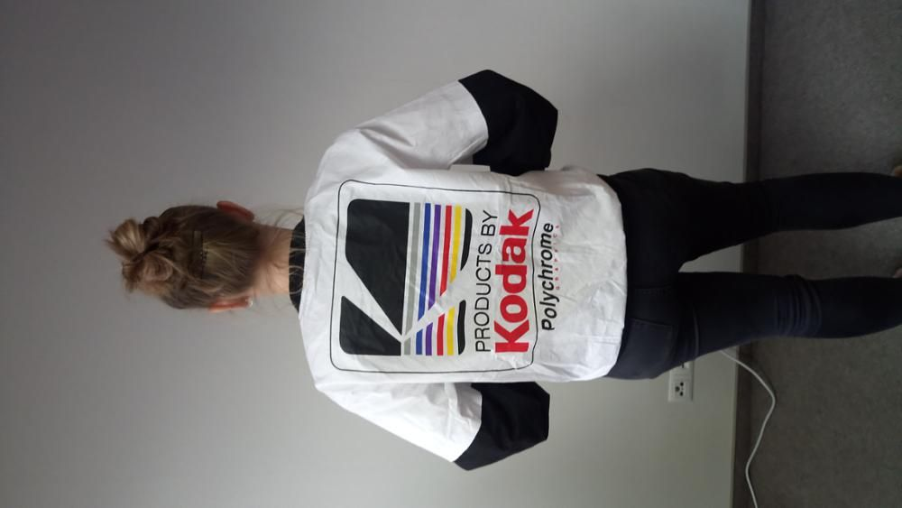 b910b0ca8 You + This Bomber Jacket = Picture that with a Kodak! There's ...