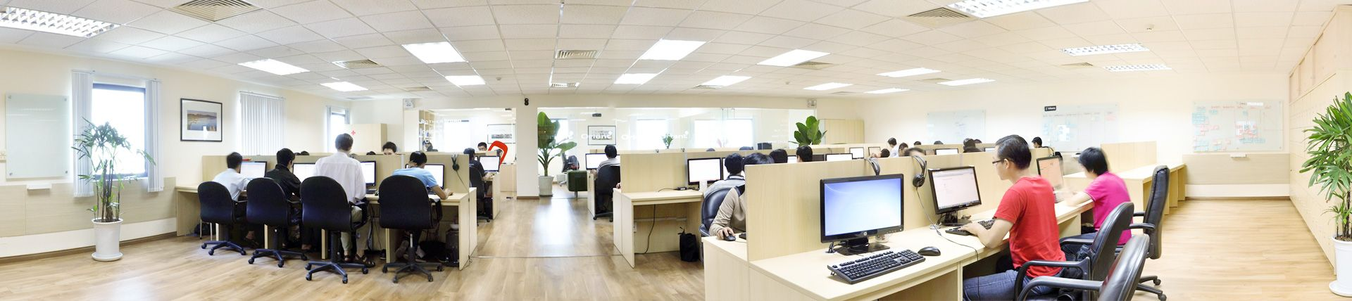 software company office. Panorama Photography In Office. Working Time At Orientsoftware Software Company Office