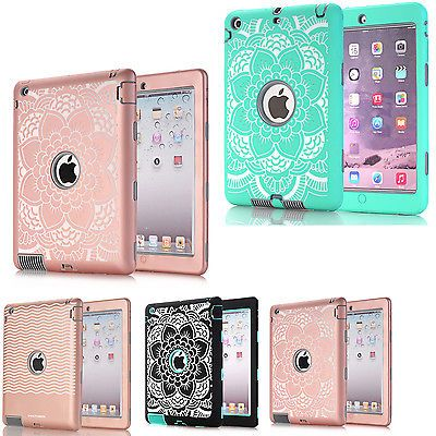 shockproof heavy duty rubber hard case cover for apple ipad 234 minishockproof heavy duty rubber hard case cover for apple ipad 2 3 4 mini air pro
