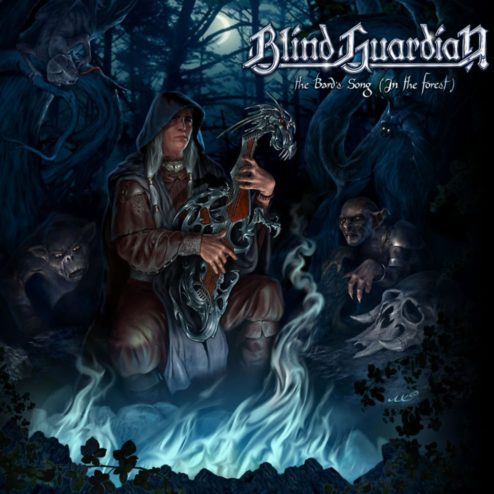 Blind Guardian The Bard S Song In The Forest Album Cover Music Wallpaper Bard Metal Music Bands