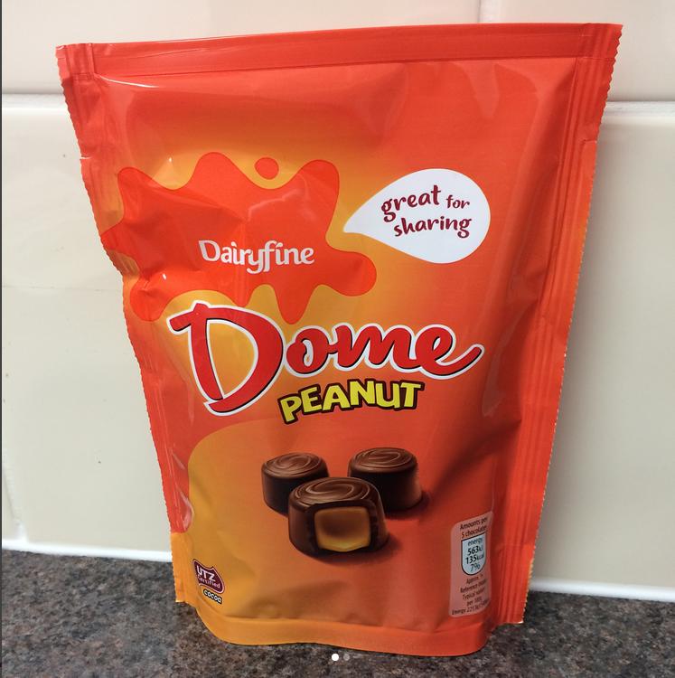 Dome Peanutaldi Peanut Butter Chocolate Candy