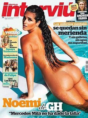 Noemí De Gran Hermano 121 Se Desnuda Para Interviú Lola Ortiz