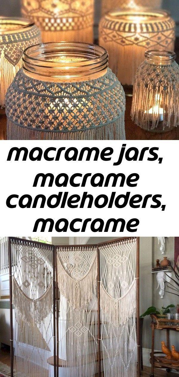 Makramee-Gläser, Makramee-Kerzenhalter, Makramee-Behälter, Makramee-Dekor -  Macrame-Gläser, Macrame-Kerzenhalter, Macrame-Behälter, Macrame-Dekor 40+ Beste DIY-Macrame-Ideen - #behalter #beltdiyideas #diyjewelryunique #diypiercing #glaser #kerzenhalter #makramee #MakrameeBehälter #MakrameeDekor #MakrameeGläser #MakrameeKerzenhalter