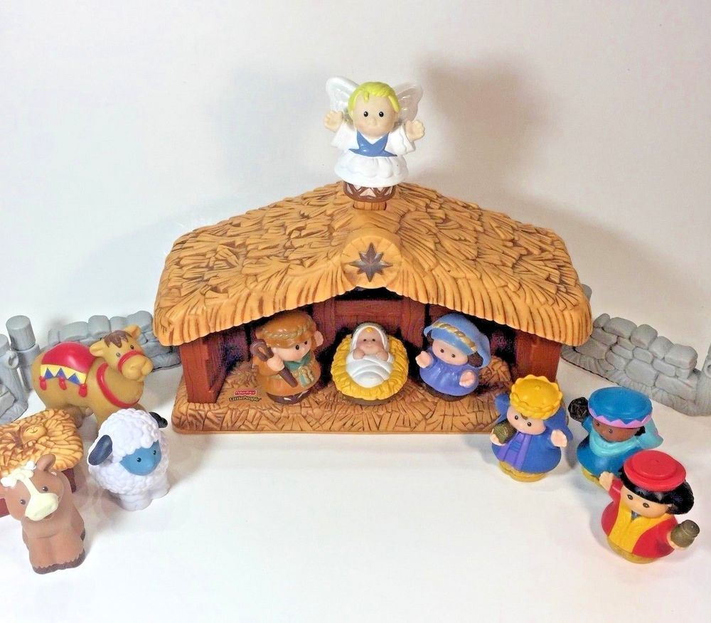 Fisher Price Little People Deluxe Nativity Deluxe Christmas Story