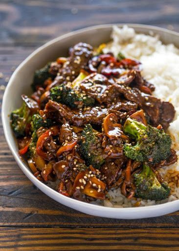 Photo of Quick 15 Minute Beef and Broccoli Stir Fry Recipe | Yummly