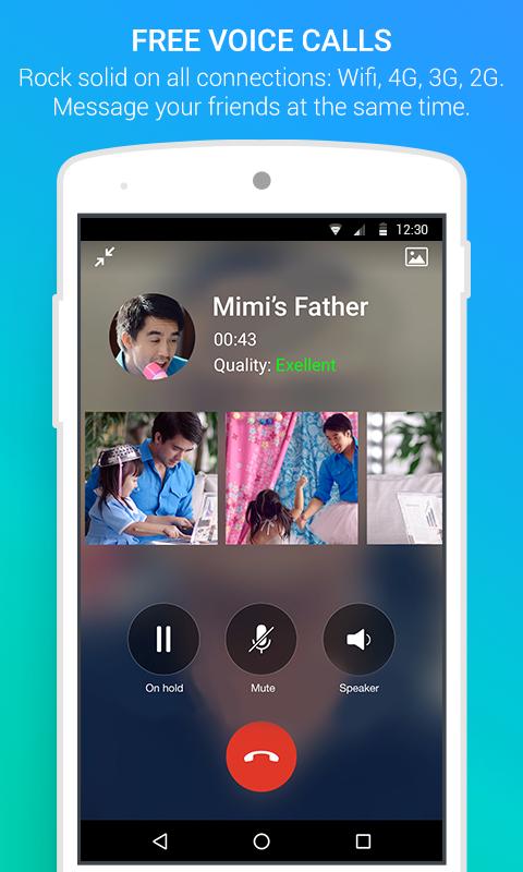 Zalo APK Download Voice call
