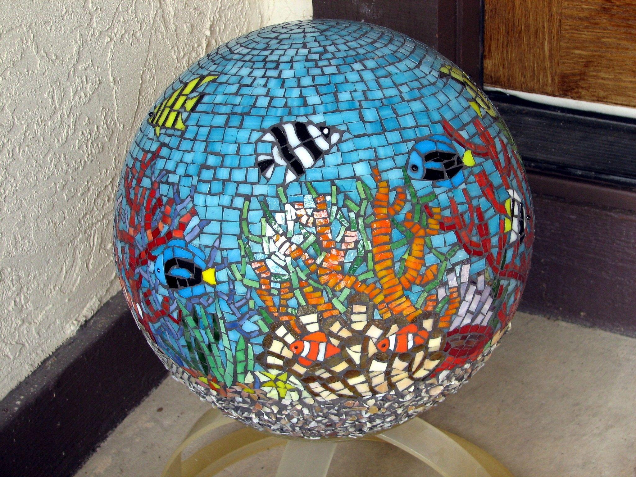 Mosaic coral reef, Mary Ellen Bazil | Mosaic | Pinterest ...