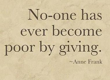 Quotes About Giving Back Unique No One Has Ever Become Poorgiving  Quotes  Pinterest Design Decoration