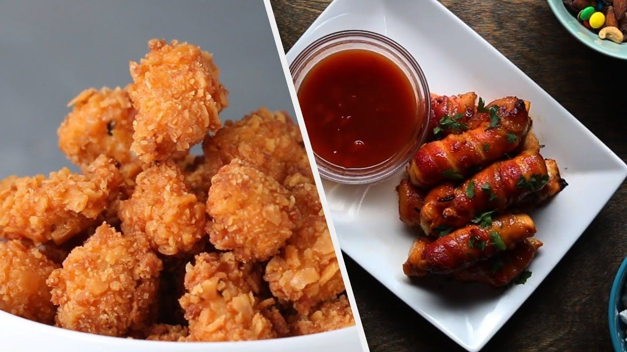9 Snacks To Make For Your Next Party Tasty Youtube Fall