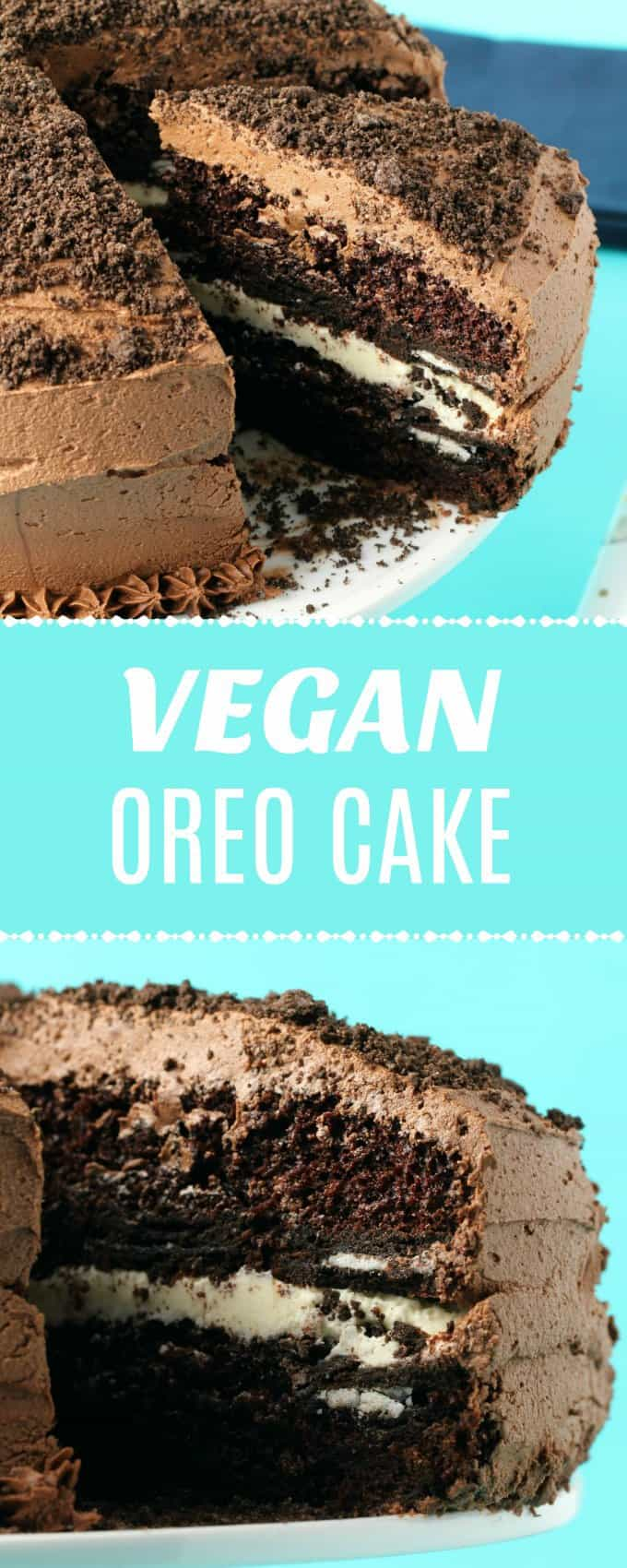 Vegan Oreo Cake