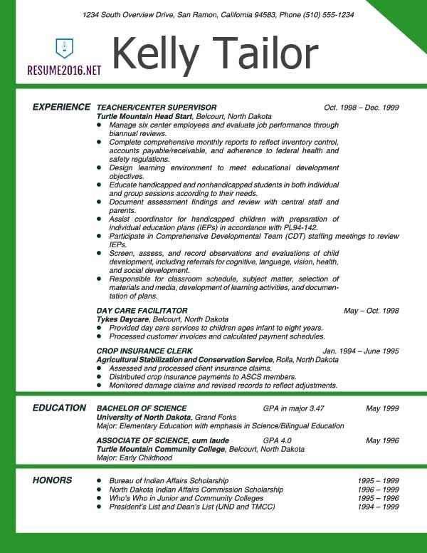 Image Result For Teacher Resume Examples Resume Examples